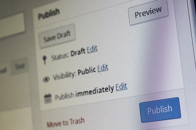 Detail na obrazovku počítača s otvorenými kolónkami