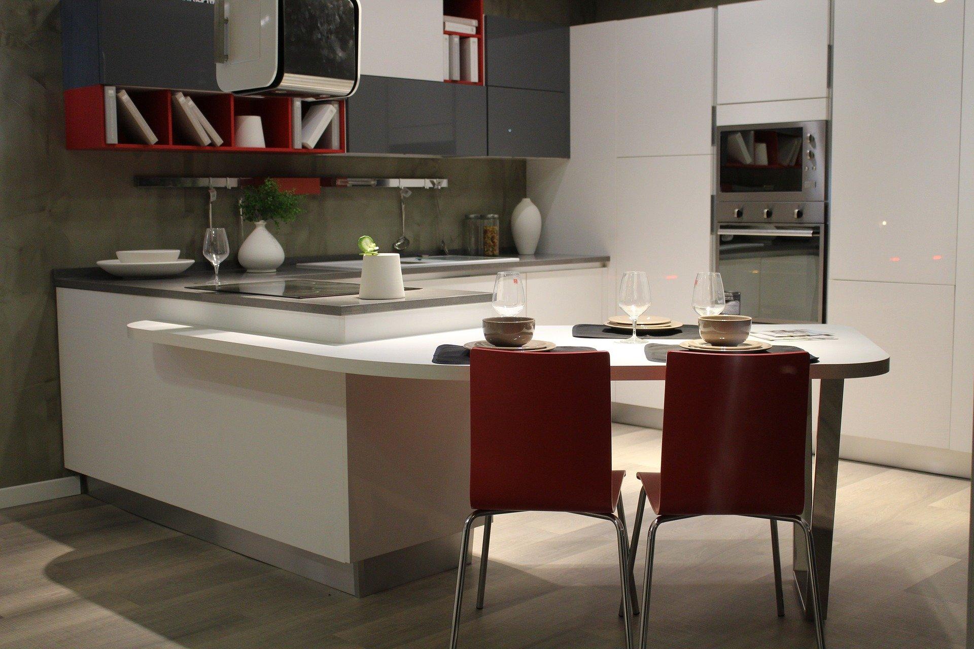 V moderne vybavenej kuchyni sa varí s radosťou