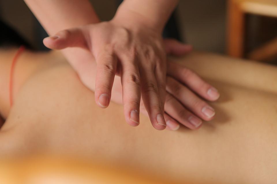masáž, ruky